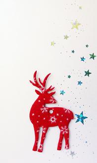 sch ne edle weihnachtskarten mit abnehmbarem elch. Black Bedroom Furniture Sets. Home Design Ideas
